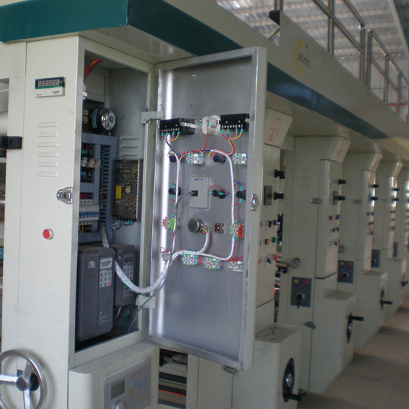 High speed gravure printing machine