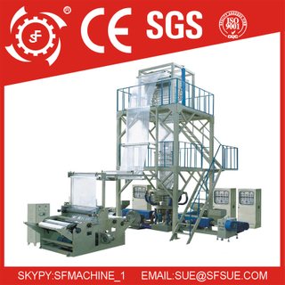 3SJ three layer co-extrusion film blowing machine